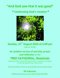 Tree Cathedral service
